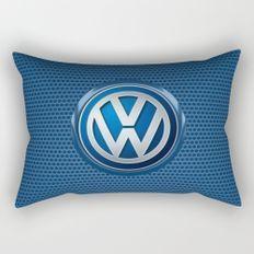 Volkswagon logo Rectangular Pillow