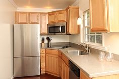 Small but super-functional, renovated kitchen - Queen Village, Philadelphia