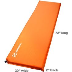Winterial Lightweight Self-Inflating Backpacking and Camping Sleeping Pad / Sleeping / Camp / Hiking / Travel | Backpack Outpost