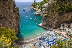 Beach in the Rocky Coastline of Amalfi Near Praiano, Campania, Italy Photographic Print by Brian Jannsen at AllPosters.com