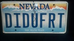 My new license plate  :)