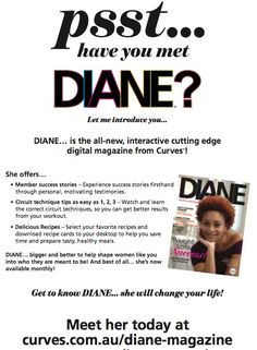 Good Morning Ladies - have you added your email to our Diane Magazine list?? Make sure you update your email address in club or below in a comment!