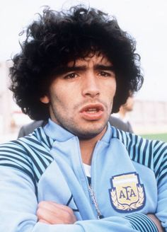 Portrait taken in June 1982 of midfielder/forward Diego Maradona who will play with Argentina's national soccer team in the World Cup in Spain AFP. 1982 World Cup, Fifa World Cup, World Football, Football Players, Rugby, Diego Armando, Super Sport, Sport Man, Soccer