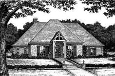 House Plan 310-191 4 Bed 3 Car