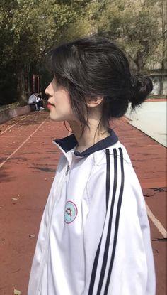 Undercut Hairstyles Women, Pretty Hairstyles, Girl Hairstyles, Asian Hairstyles, Korean Hairstyles Women, Summer Hairstyles, Korean Short Hairstyle, Pompadour Hairstyle, Kawaii Hairstyles