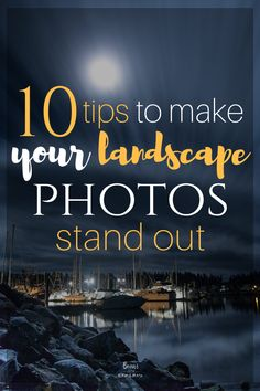 10 tips to transform your landscape photos and make them stand out. Here we cover things like using the weather to your advantage, showing motion and more. - 10 Tips to Make Your Landscape Photos Stand Out Dslr Photography Tips, Landscape Photography Tips, Photography Tips For Beginners, Photography Lessons, Photography Backdrops, Photography Tutorials, Digital Photography, Nature Photography, Photography Hashtags