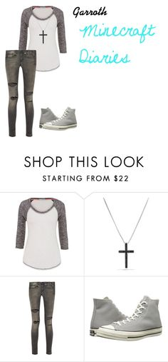 """""""Garroth (Minecraft Diaries)"""" by benjiedaisy on Polyvore featuring maurices, David Yurman, R13, Converse, women's clothing, women's fashion, women, female, woman and misses"""