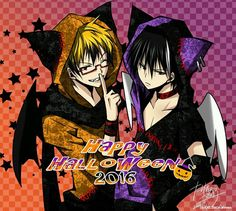 So today I have to go and hunt some children ------ (Credit: Kyo_Tachibana) Qotd: What are your Plans for Halloween? (Anime/Manga: #Servamp) #servamphyde #servamplawless #lichtjekyllandtodoroki #Manga #anime I GOTTA PROTECT MY CANDY.