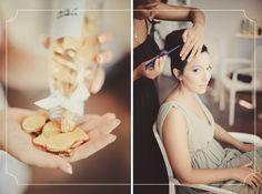 עטרה ועידן, 5.9.12 | חתונות אורבניות  www.urbanbridesmag.co.il  צילום: מאמא צלמים  #weddings #urbanbrides #bride #make up #hair #chocolate