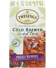 Twinings Mixed Berries Cold Brewed Iced Tea 20 ct ** You can get additional details at the image link.