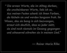 — Rainer Maria Rilke