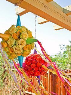 How to Make a Flower Piñata : Holidays and Entertaining : Home  Garden Television Cinco de Mayo decor