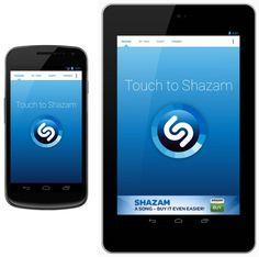 Shazam 4.0 para Android tiene un nuevo diseño y soporte mejorado para tablets.