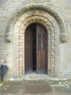 St. Mary's Wreay, Cumbria - church door quilt Cumbria, Doors, Quilt, Beautiful, Aperture, Quilt Cover, Quilts, Comforters, Blankets
