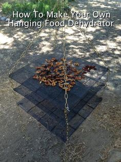 How To Make A Hanging Food Dehydrator...http://homestead-and-survival.com/how-to-make-a-hanging-food-dehydrator/