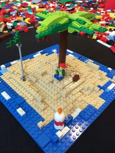 Onbewoond eiland lego