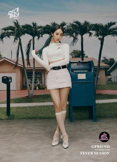 """We all have a """"Fever"""" for Gfriend!The second round of teaser photos for their upcoming mini-album 'Fever Season' show that they are inde… Gfriend Album, Sinb Gfriend, Gfriend Sowon, Kpop Girl Groups, Korean Girl Groups, Kpop Girls, Kim Bum, Park Jin Young, Running Man"""