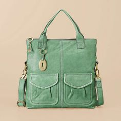 JACLYN---- THIS IS THE ONE I WANT THE MOST IF THEY HAVE IT IN STOCK AT HER STORE!!   FOSSIL® Handbag Silhouettes Tote:Women Modern Cargo Convertible Tote ZB4524