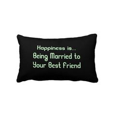 Marriage Quote Pillow, I want this pillow :)