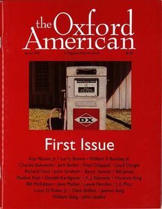OxfordAmerican.org/ ~TheOxford American~  Non-profit, quarterly Literary Magazine dedicated to featuring the best in Southern Writing.