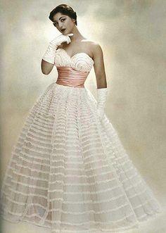 dovima_is_devine_II, via Flickr, She has hundreds of Vintage Fashions, Models, Hollywood Women