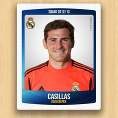 Real Madrid Collections - Iker Casillas Fernandez