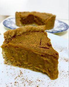 Pumpkin pie - Sem açúcar - Blog Fit Food Ideas