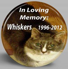 PHOTO Button Magnet  PET MEMORIAL  by CreativeXpression1 on Etsy, $5.50