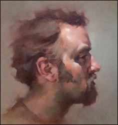 Oil Portrait Gallery   Jeff Haines