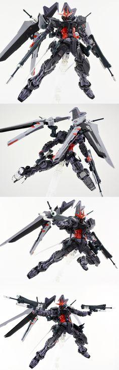 MG 1/100 MBF-POX Gundam Astray Noir