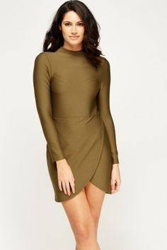 Cheap Dresses for 5 £ Affordable Dresses, Cheap Dresses, Latest Dress, Dress Outfits, Fashion Online, Shop Now, Bodycon Dress, High Neck Dress, Brand New