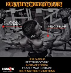 NEULIFE NUTRIPEDIA: Get to know more about Creatine Monohydrate #Supplement #Nutripedia #bodybuilding #Creatine