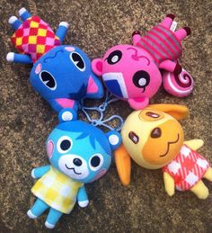 Animal crossing plushies by ~thebabby4 on deviantART