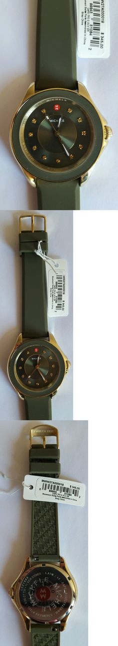 Other Jewelry and Watches 98863: Michele Cape Topaz-Studded Watch, 38Mm Price: $345.00 -> BUY IT NOW ONLY: $185 on eBay!