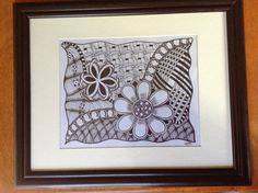 - #zentangle #zendoodle #art #drawing #pen #sharpie #graphite more at www.facebook.com/ChrissieMurphyDesigns