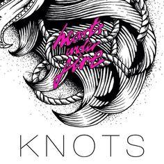 Knots Single Outlines, Debut Album, Knots, Playing Cards, Playing Card Games, Game Cards, Buttons, Playing Card