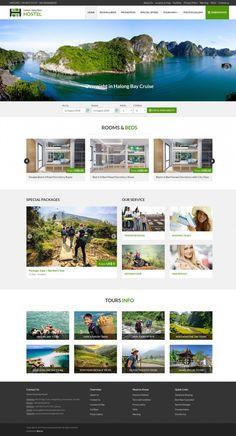 Dự án website Biso đã thiết kế - Biso.vn Hanoi, Hostel, Desktop Screenshot, Website