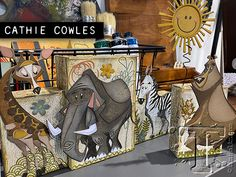 2020 creativation: sizzix booth | Tim Holtz Tim Holtz Dies, Sizzix Dies, Crazy Bird, Ranger Ink, Diy Resin Crafts, Landscape Quilts, Collaborative Art, Art Lessons Elementary, Animal Cards