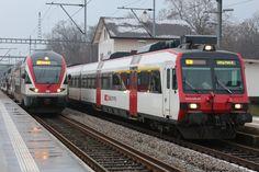 Swiss Railways, Bahn, Switzerland, Trains, Electric, The Unit, World, Europe, Paths