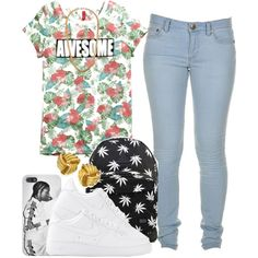 , It's Friday , AWESOME ! ', created by blueberriecupcakess on Polyvore