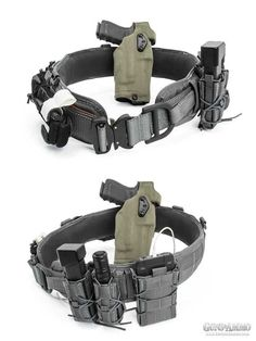 """Looking for the ultimate home defense setup? Check out Chris Mudgett's """"battle belt."""" It keeps everything you need and makes it easily accessible."""