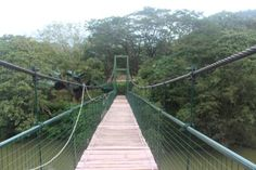 Hanging bridge in Leisure Zone, Themala