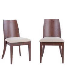 Jed Side Chair Beige Set Of 2, $379, now featured on Fab.