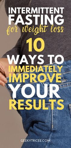 10 ways to immediately improve your intermittent fasting weight loss results – – Diet 2020 Weight Loss Secrets, Weight Loss Goals, Fast Weight Loss, Weight Loss Transformation, Weight Loss Program, Weight Loss Motivation, Healthy Weight Loss, Lose Weight, Weight Loss Results