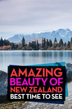 Best Time Of Year To Go To New Zealand. I love New Zealand so much! It's an…