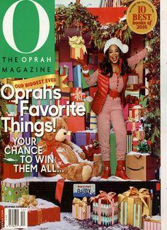 Oprahs Favorite Things! Gefunden in: O the Oprah Magazine USA, Nr. 12/2016