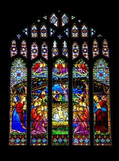 Nativity window, Chester Cathedral
