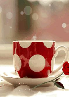 Good Morning World, Good Morning Gif, Coffee Gif, Coffee Break, Animation, Christmas Decorations, Mugs, My Favorite Things, Tableware