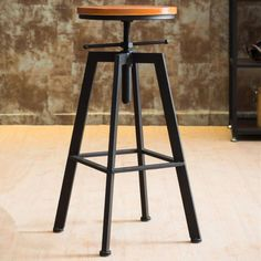 Neil Faux Leather Bar Amp Counter Stool Set Of 2 Rustic