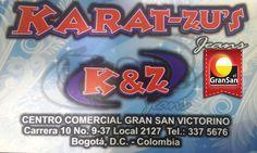 #MarcadelDía KARAT-ZU´S Jeans, tiene lo mejor en drill, chaquetas para dama y caballero con gran variedad de colores.  Encuentrala en el #GranSan, local:337 5676. Local 2127.  #ColombianoCompraColombiano   #SoyCapaz de creer en mi país!